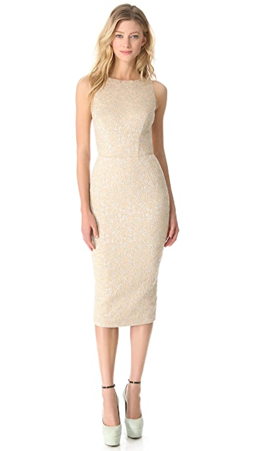 Rochas Sleeveless Pencil Dress