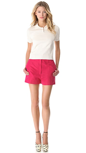 Rochas Short Sleeve Polo Shirt