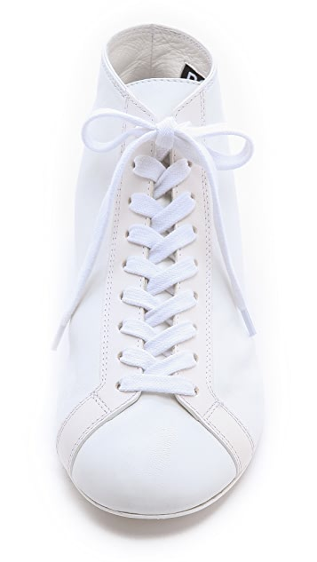 Rochas Lace Up Sneakers