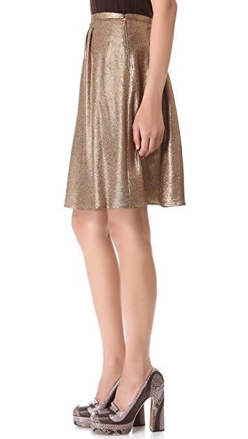 Rochas Pleated Skirt