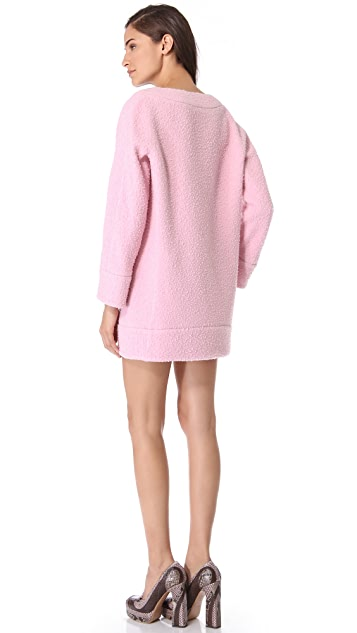 Rochas Pilled Sweater Dress