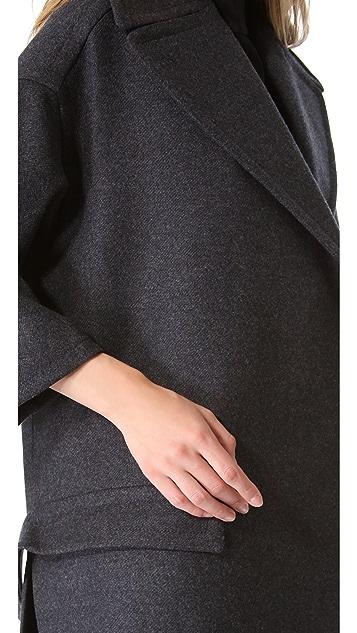 Rochas Oversized Open Coat