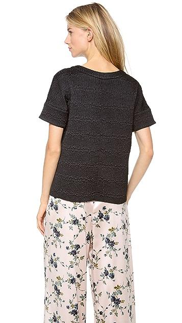 Rochas Short Sleeve Top