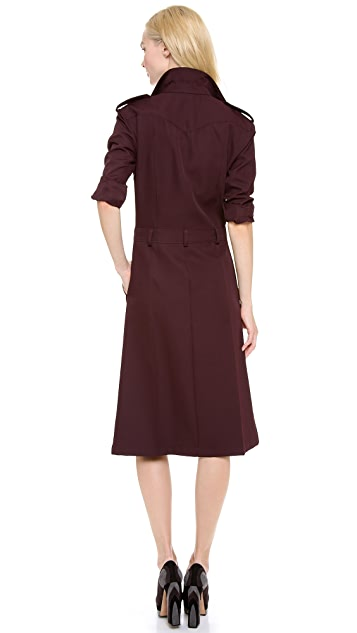 Rochas Long Sleeve Dress
