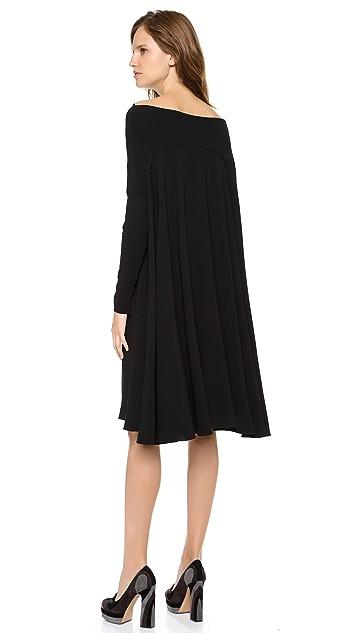 Rochas Off Shoulder Dress