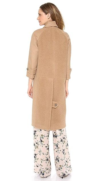 Rochas Camel Coat