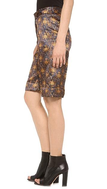 Rochas Printed Shorts