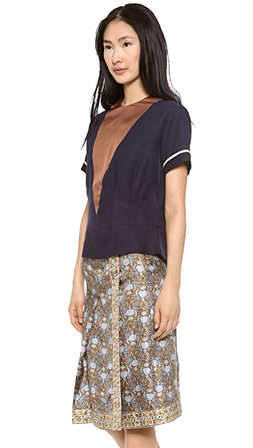 Rochas Short Sleeve Top
