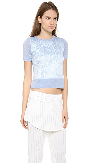 Rochas Short Sleeve Sweater