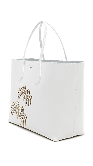 Rochas Leather Tote