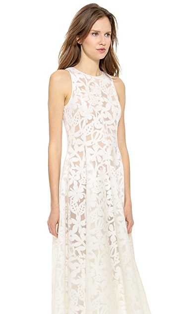 Rochas White Dress
