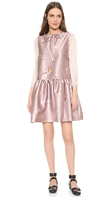 Rochas Long Sleeve Dress