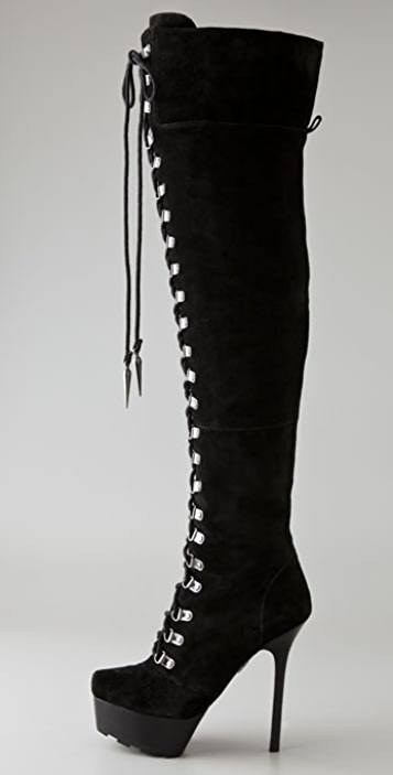 Rock & Republic Blaine Suede Over the Knee Boots