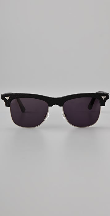 Rodarte for Opening Ceremony Snakeskin Sunglasses
