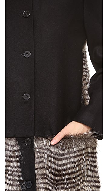 Rodebjer Duri Faux Fur Coat