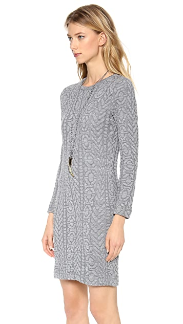 Rodebjer Lizzie Embossed Knit Dress