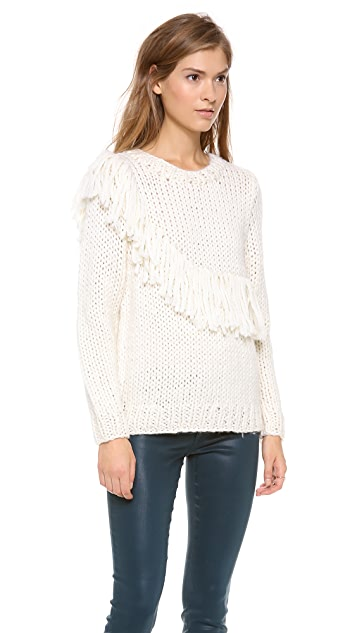 Rodebjer Eser Fringe Sweater