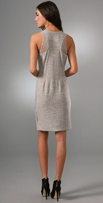 Rogan Tros Sweater Tank Dress