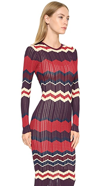 Ronny Kobo Cheffie Long Sleeve Dress