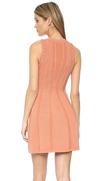 Ronny Kobo Shira Needle Stitch Dress