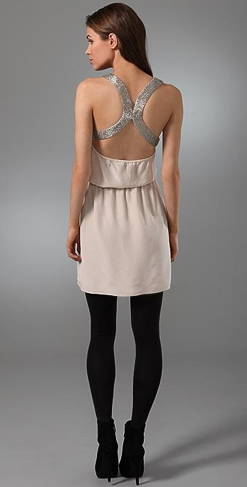 Rory Beca Rudy Beaded Scoop Neck Dress