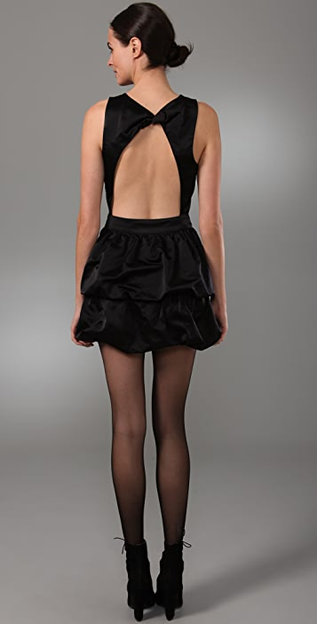 Rory Beca Alexis Open Back Bubble Dress