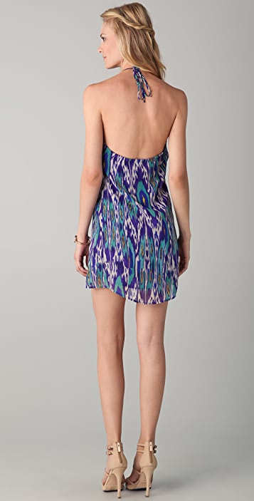Rory Beca Pesha Halter Ruffle Dress