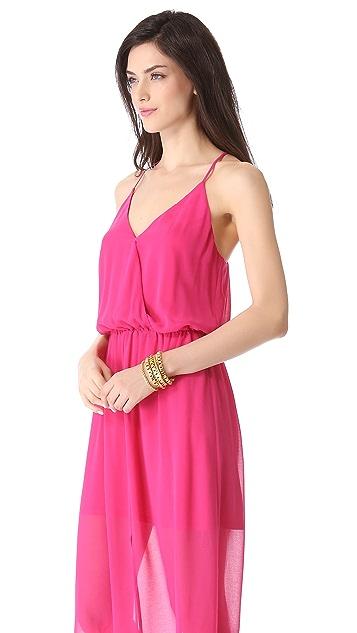 Rory Beca Hess Drape Wrap Gown
