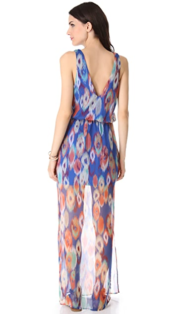 Rory Beca Zenalda Fishtail Wrap Gown