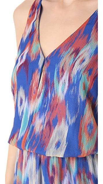 Rory Beca Zenalda Fishtail Wrap Gown