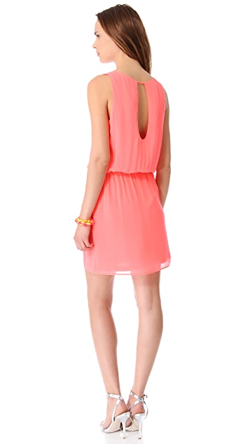Rory Beca Crest Open Back Mini Dress