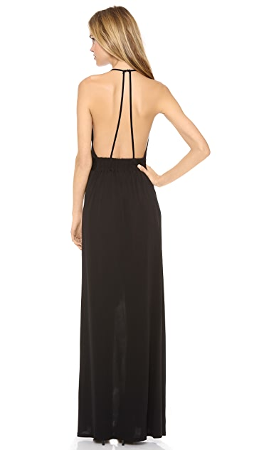 Rory Beca Lily Halter Gown