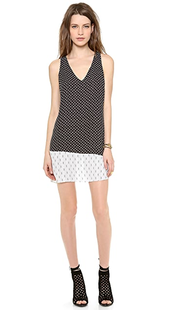 Rory Beca Jana Contrast Shift Dress