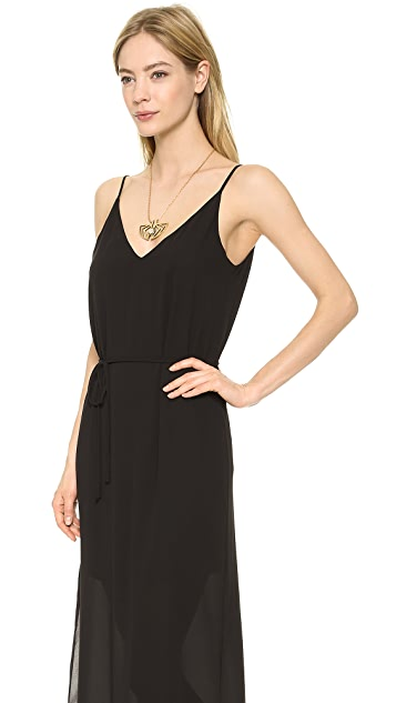 Rory Beca Harrow Deep V Back Gown