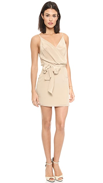 Rory Beca Molly Overlay Dress with Self Tie