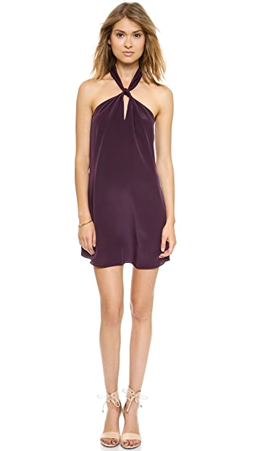 Rory Beca Front Knot Halter Dress