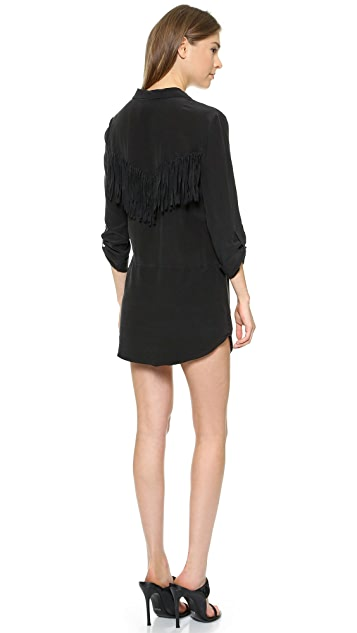 Rory Beca Shabba Silk Fringe Dress