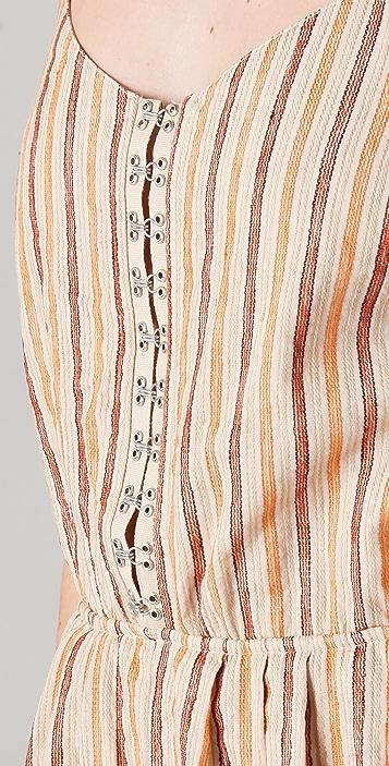 Roseanna Turan Striped Romper