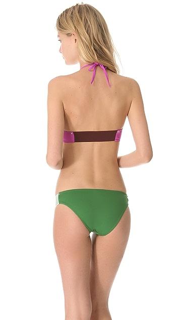 Roseanna Studs Kitty Bikini Top