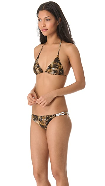 Roseanna Palm Elvis Bikini Top