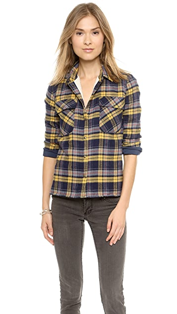 Roseanna Leone Sherpa Lined Button Down