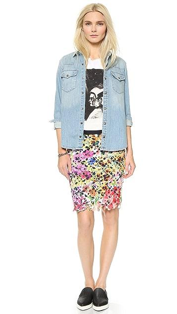 Roseanna Berlin Floral Lace Skirt