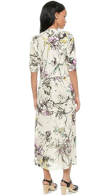 Roseanna Will Long Printed Dress