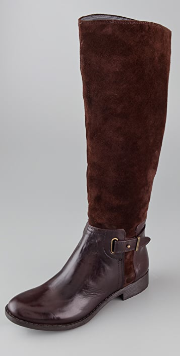 ROSEGOLD Nycole Flat Riding Boots