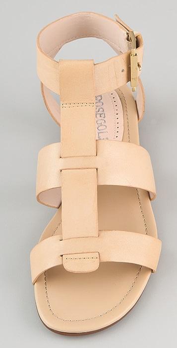 ROSEGOLD Adrian Flat Sandals