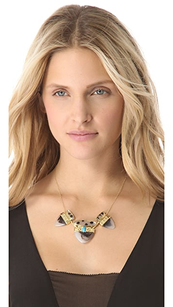 Rose Pierre Le Midi Station Necklace