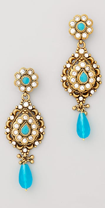 Rosena Sammi Jewelry Blue Stone Drop Earrings