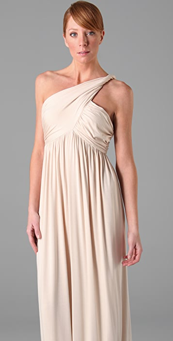 Rachel Pally Twist Shoulder Dress