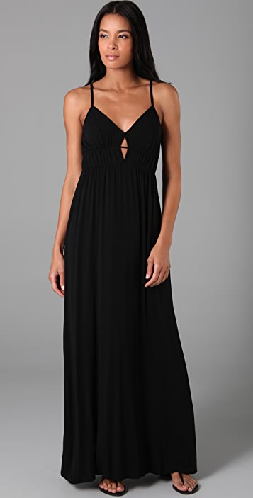 Rachel Pally Diamond Keyhole Long Dress