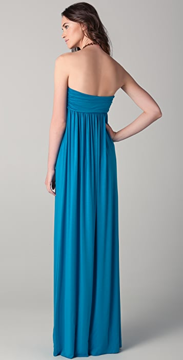 Rachel Pally Omega Strapless Dress
